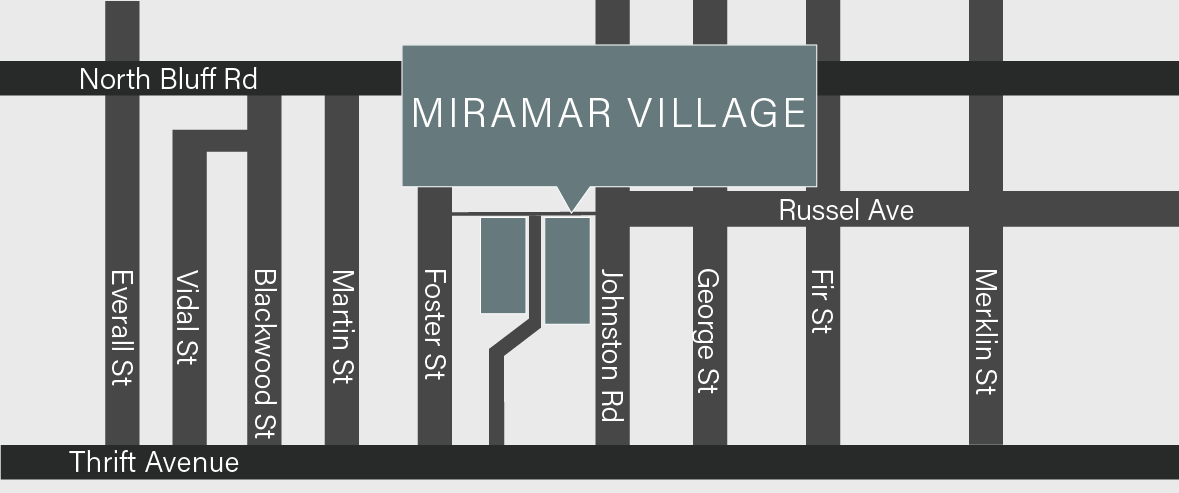 Footer Map, 15152 Russell Avenue Location